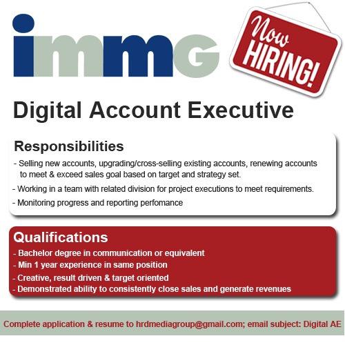 Iklan Lowongan Pekerjaan Account Planner2