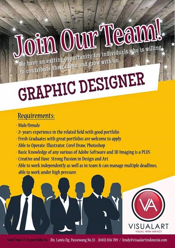 Iklan Lowongan Pekerjaan Creative Designer