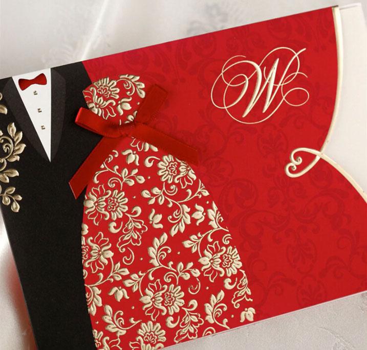 Contoh Undangan Pernikahan Chinese