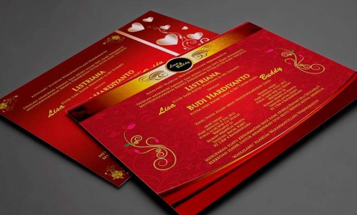 Undangan Pernikahan Chinese